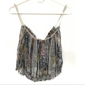 Urban Outfitters Boho Crop Top